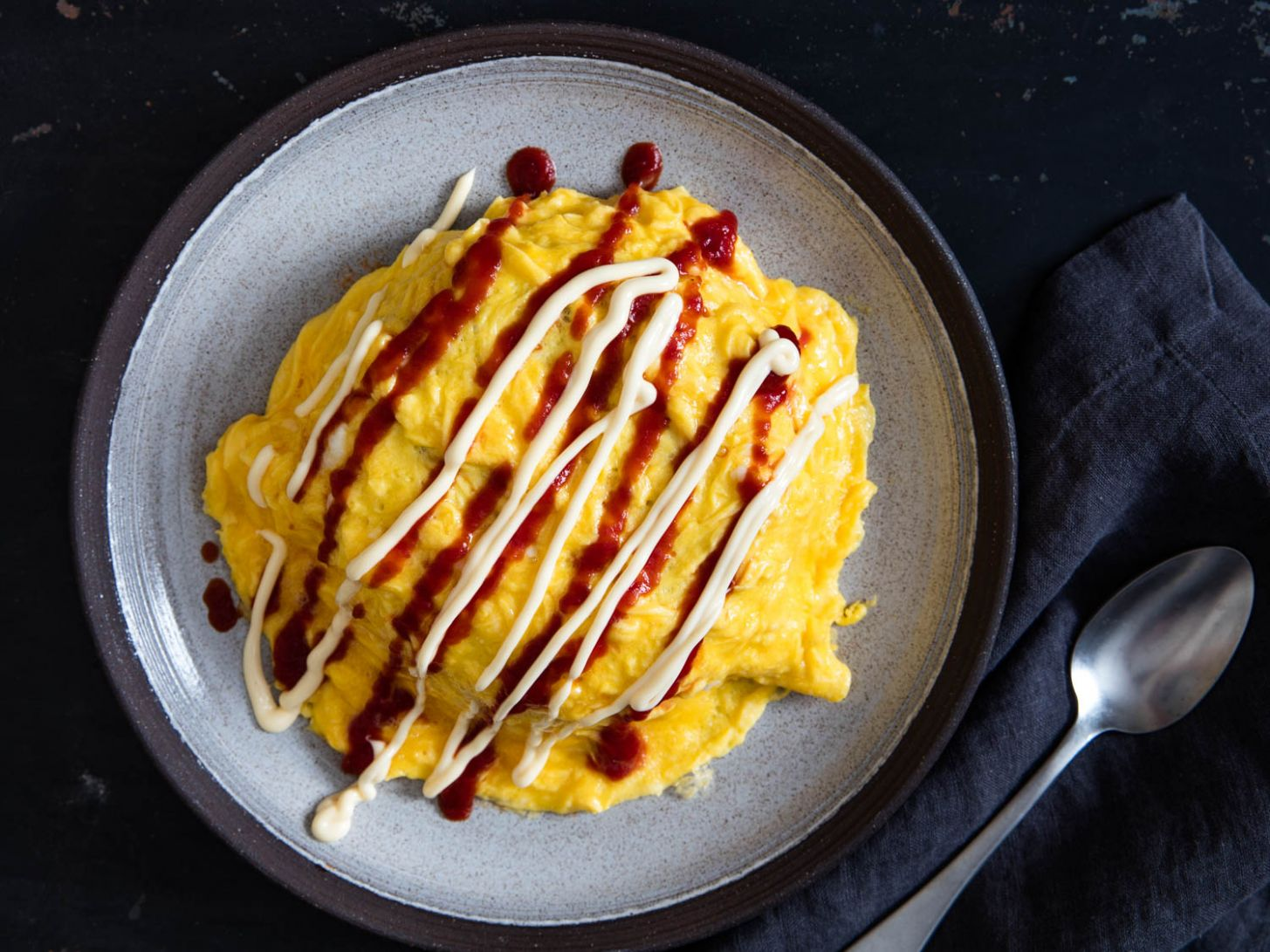Japanese Omelette-Topped Ketchup Fried Rice With Chicken (Omurice) Recipe