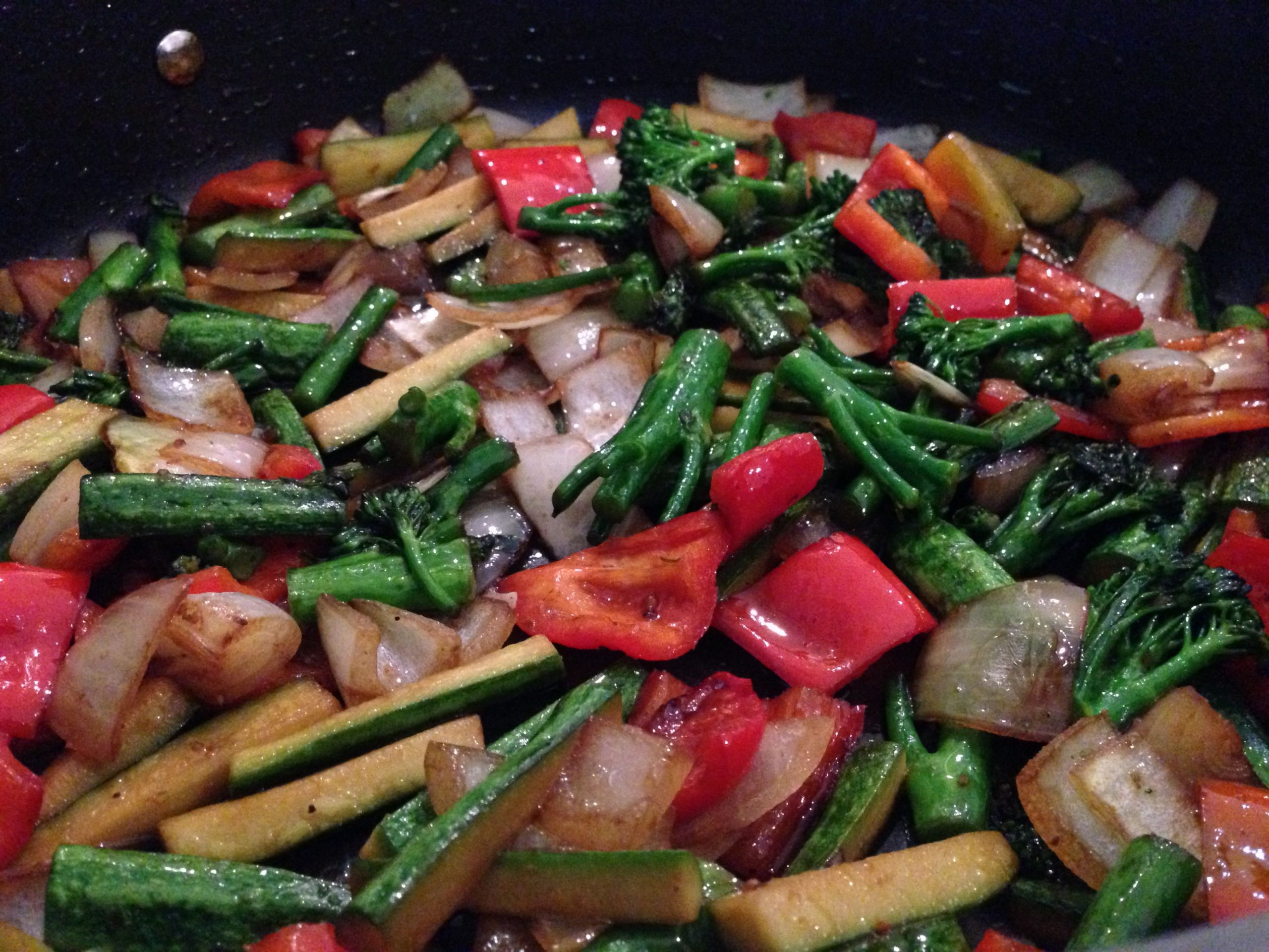 Japanese Stir Fried Veg