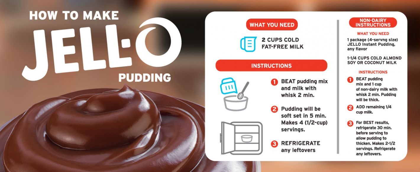 Jell-O Chocolate Instant Pudding & Pie Filling | Hy-Vee Aisles ..