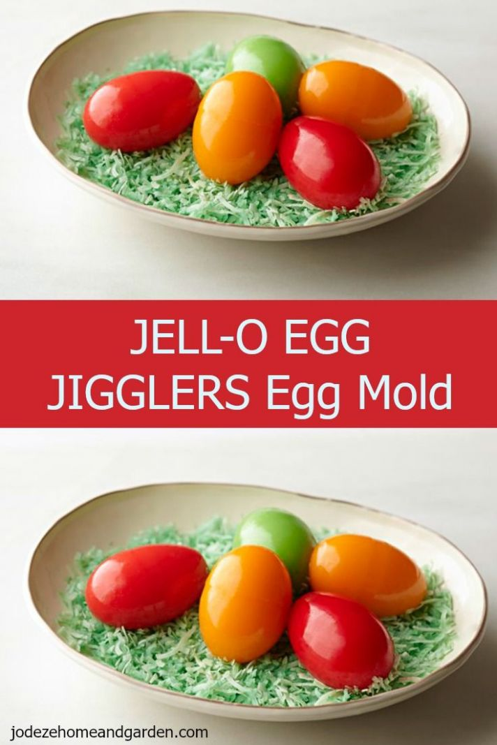 JELL-O EGG JIGGLERS Egg Mold | Recipe | Jello eggs, Recipes, Egg molds - Recipe Jello Egg Jigglers