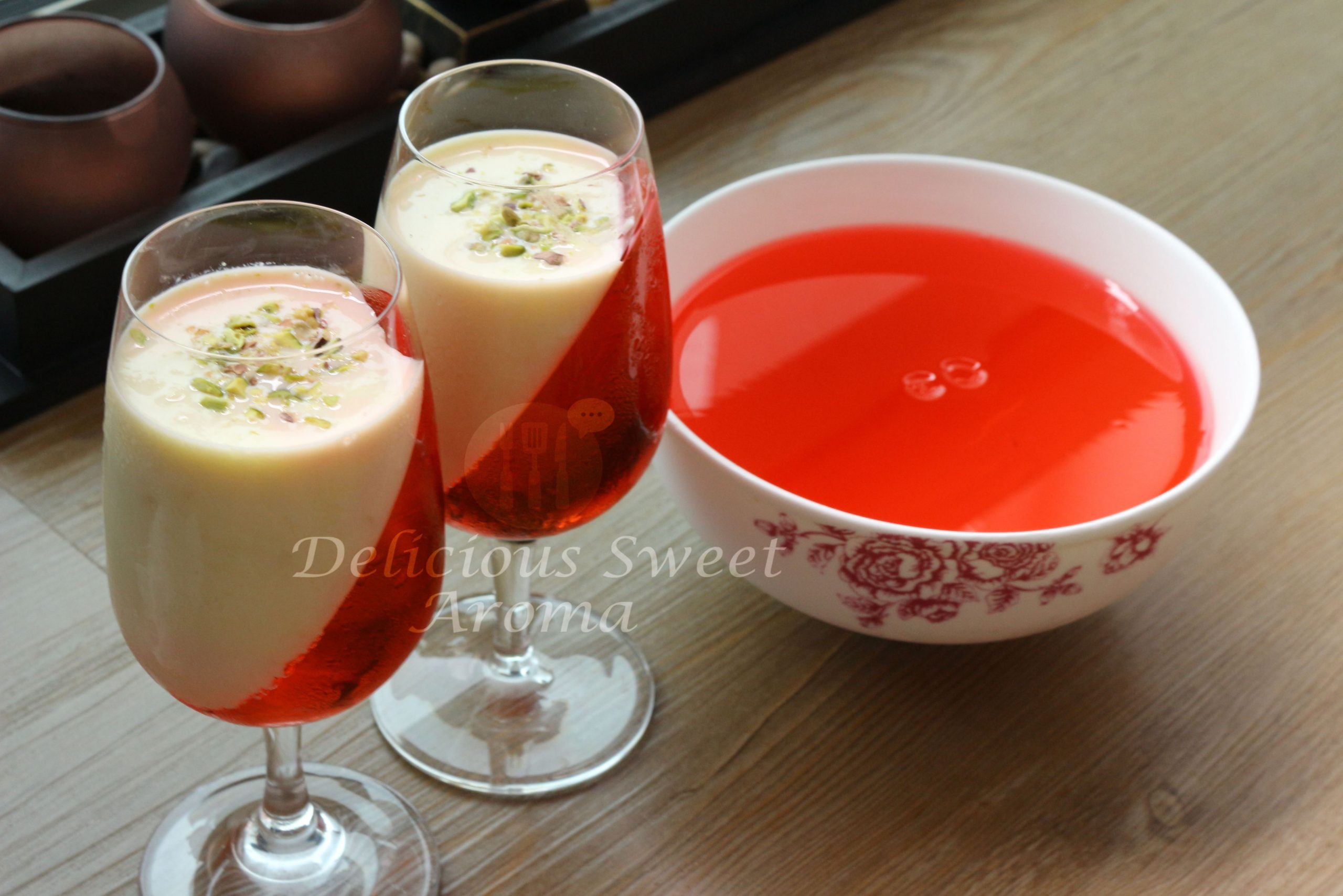 Jelly ans Custard Recipe