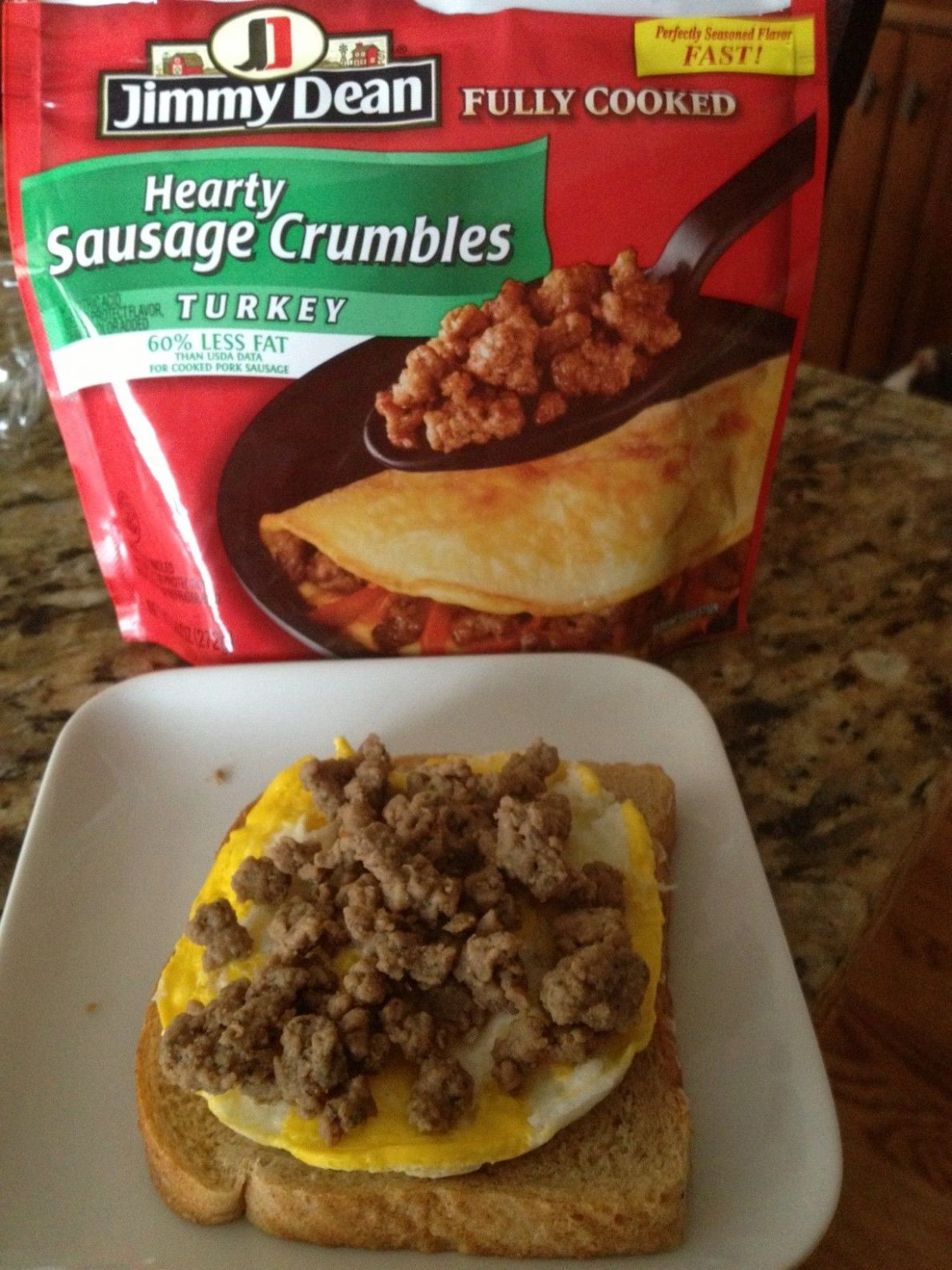 Jimmy Dean Fully Cooked Hearty Sausage Crumbles - Turkey - News ..