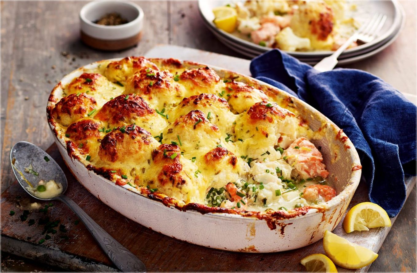 Jo's 'showstopper' fish pie