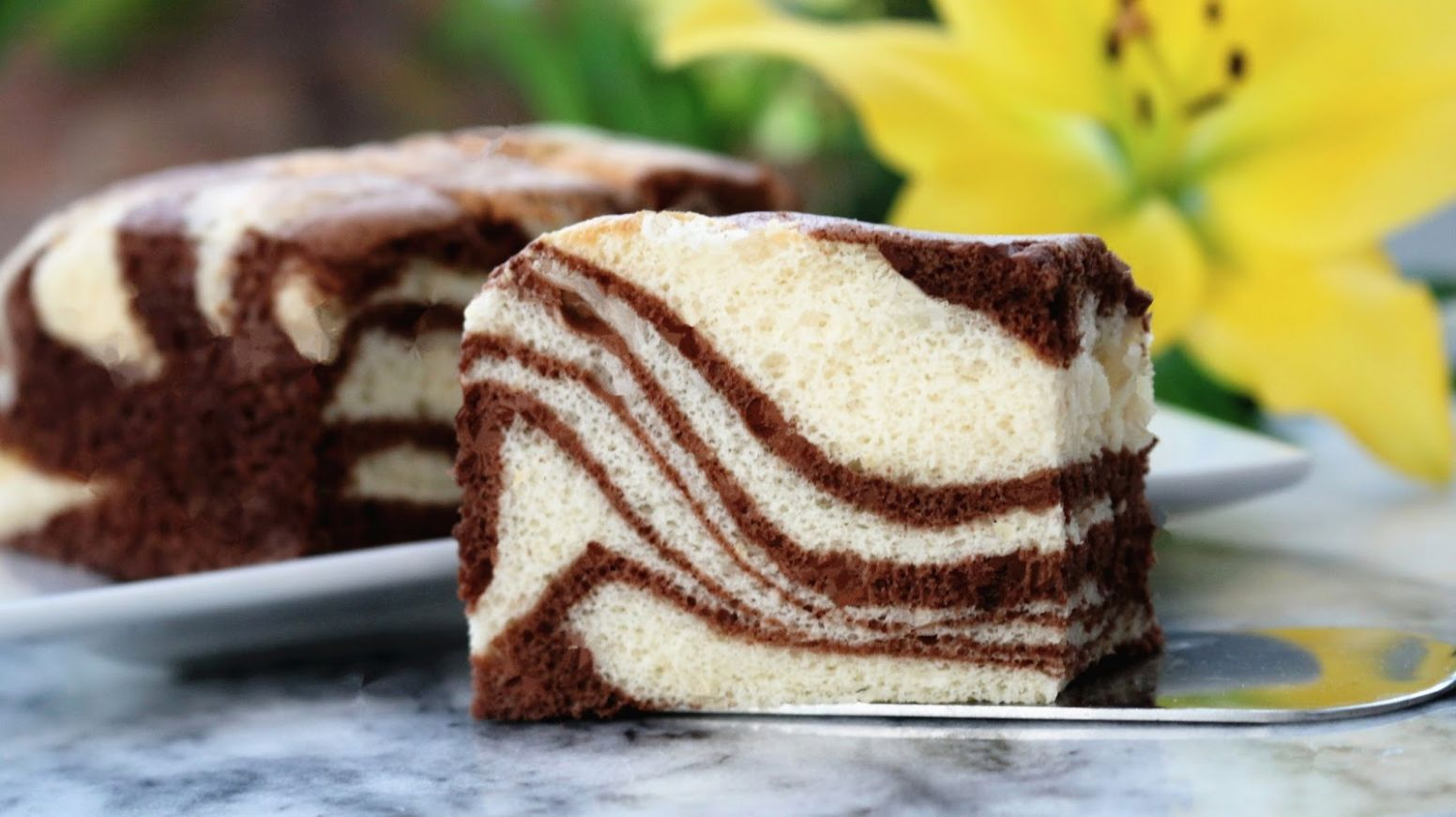 Josephine's Recipes : Zebra Cake Recipe | Step By Step Baking Guides