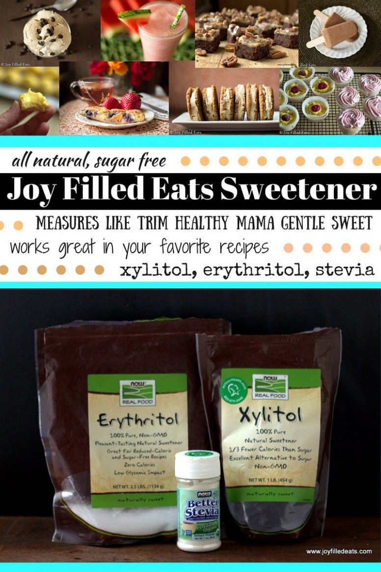Joy Filled Eats Sweetener - measures like Trim Healthy Mama Gentle ...
