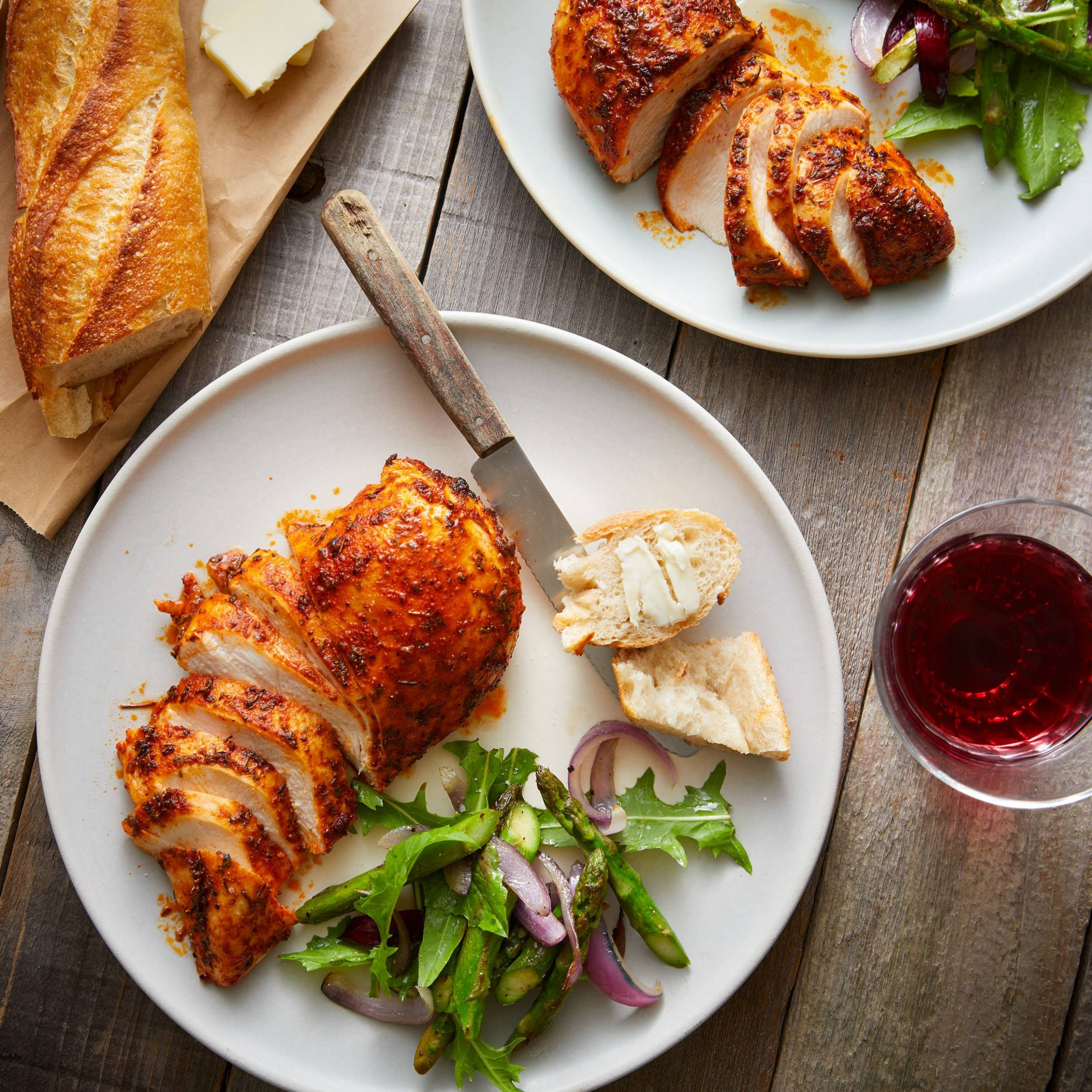 Juicy Oven-Baked Cajun Chicken Breasts - Chicken Breast Recipes Yummly