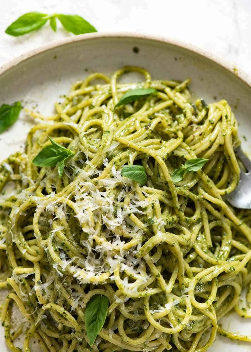 JUICY Pesto Pasta! - Recipes Pasta Pesto