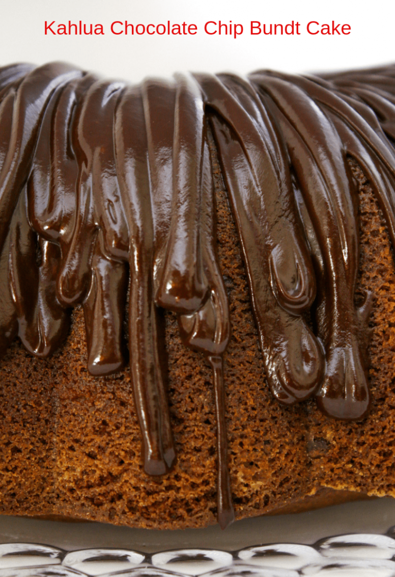 Kahlua Chocolate Chip Bundt Cake - Recipe Chocolate Kahlua Bundt Cake