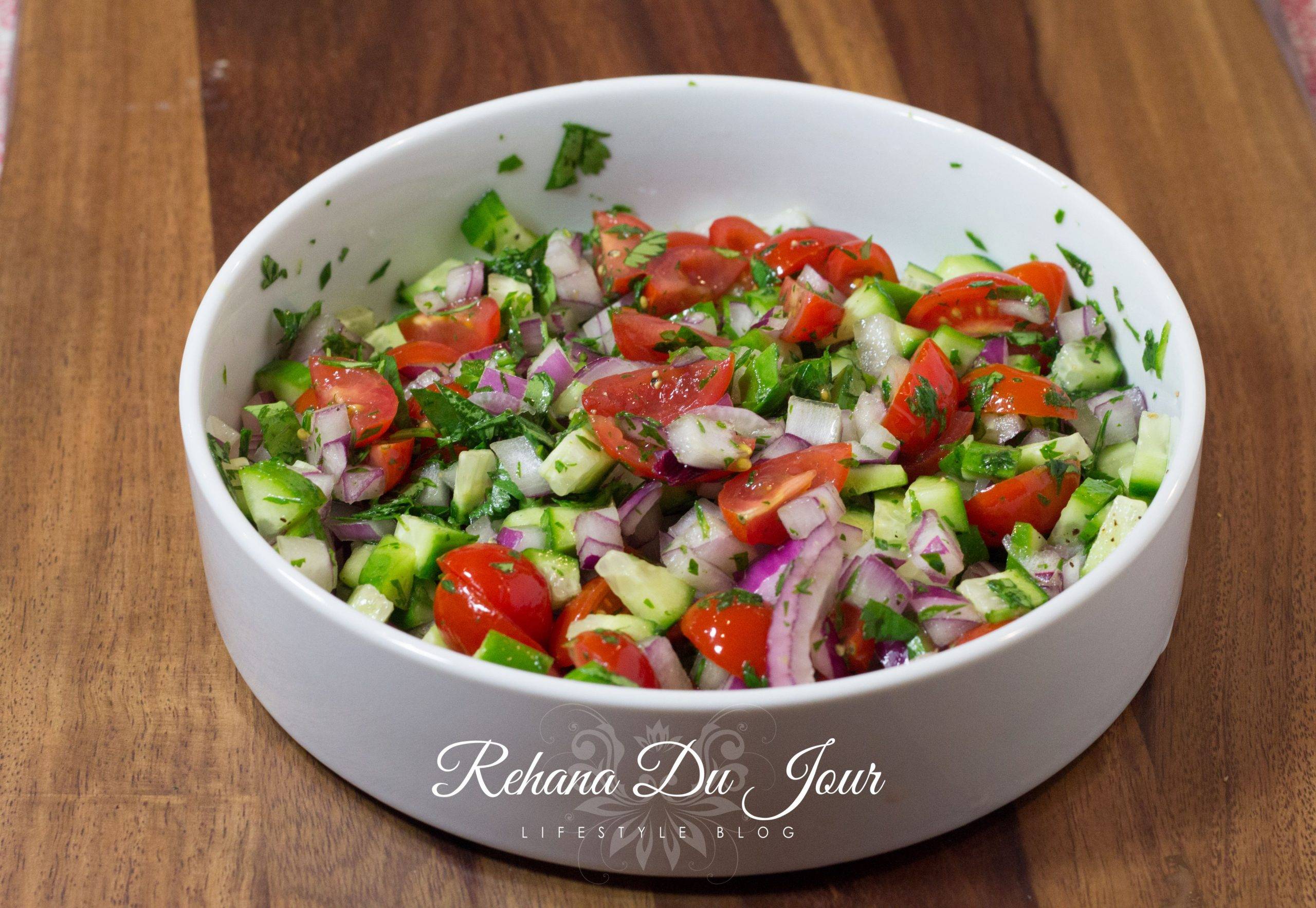 Katchumbar - the easiest and freshest salad EVER!