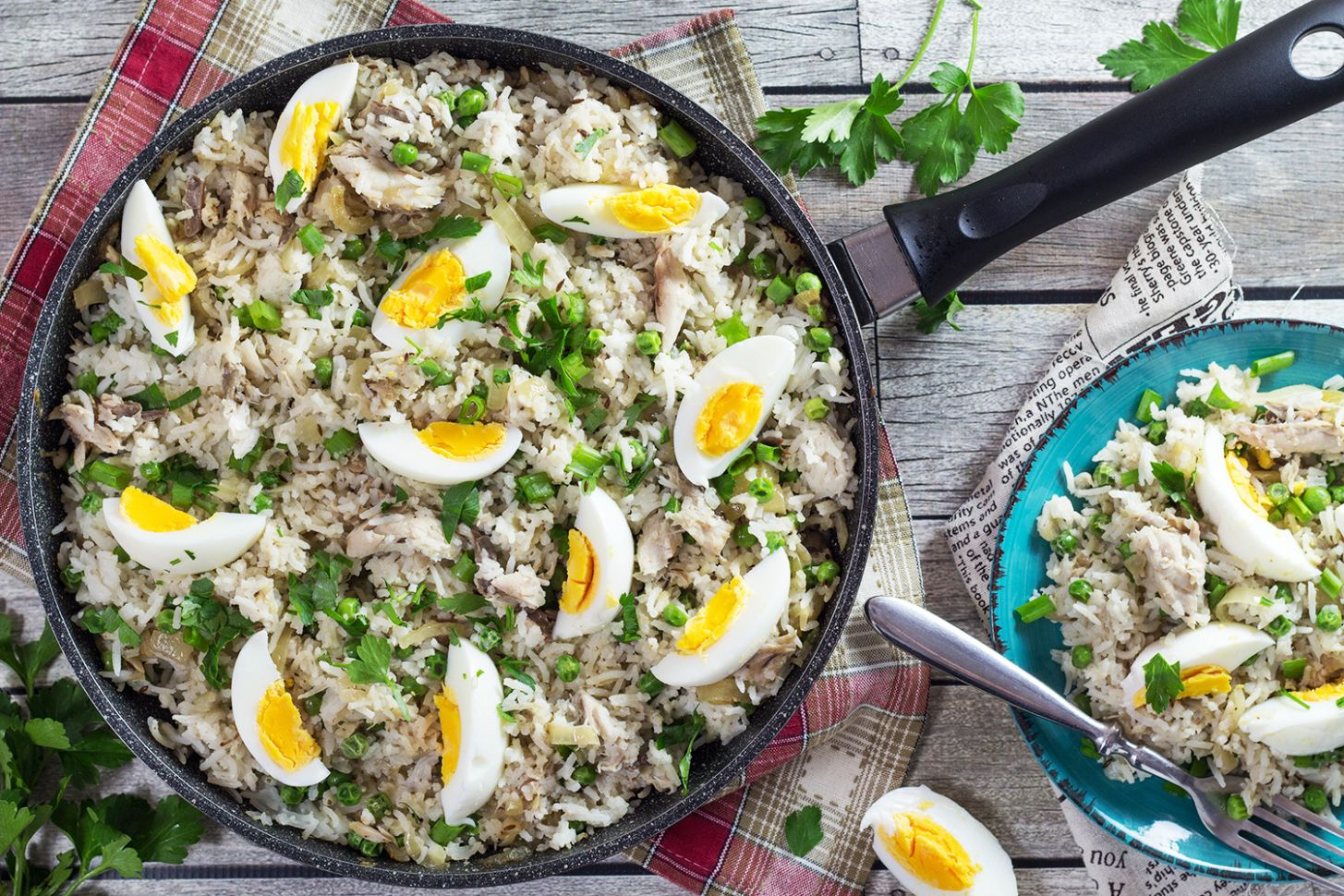 Kedgeree Recipe (British Rice with Smoked Fish) - Cooking The Globe