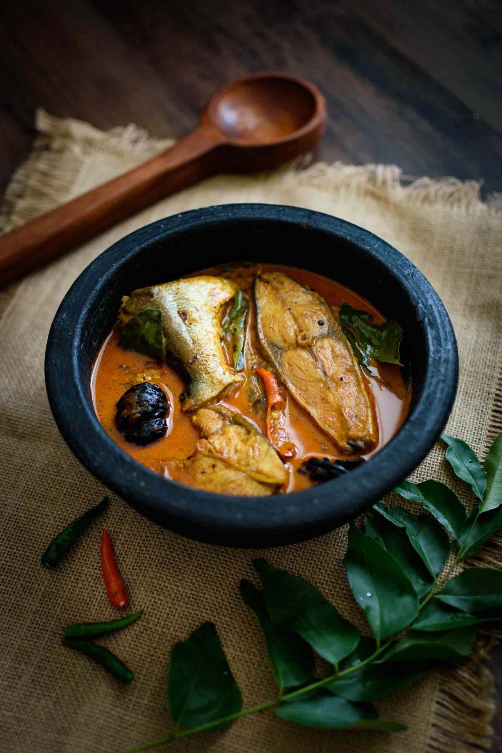 Kerala Fish Curry with Coconut Milk - Recipe Fish With Coconut Milk