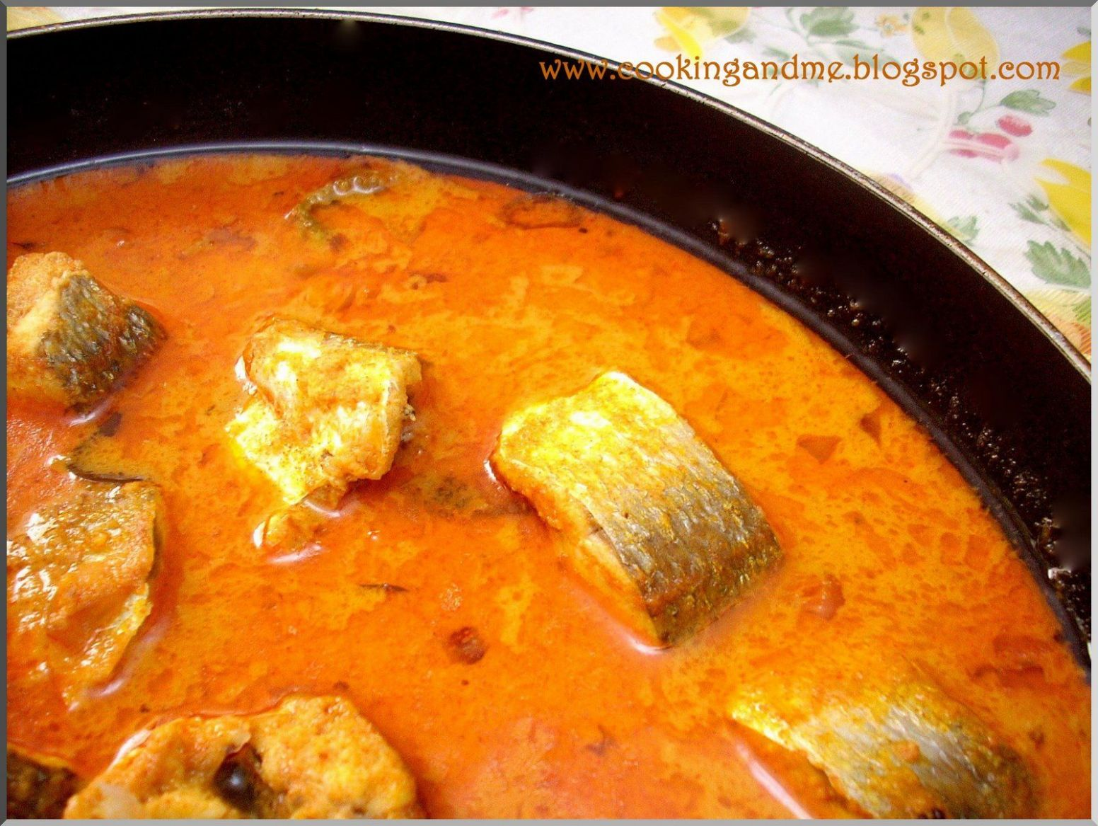 Kerala Fish Curry with Coconut {Recipe | Fish curry recipe, Andhra ...