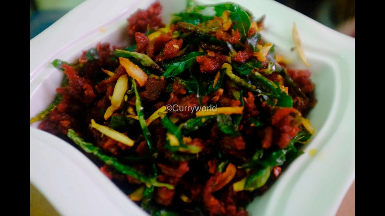 Kerala Spicy Beef Chilli with English Subtitle:Recipe no 10