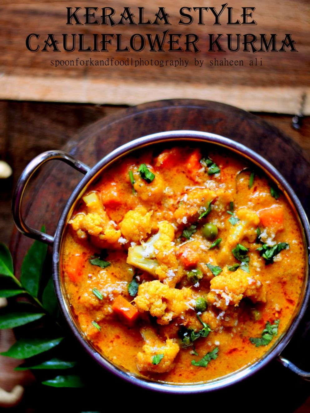KERALA STYLE CAULIFLOWER KURMA - Vegetable Recipes Kerala