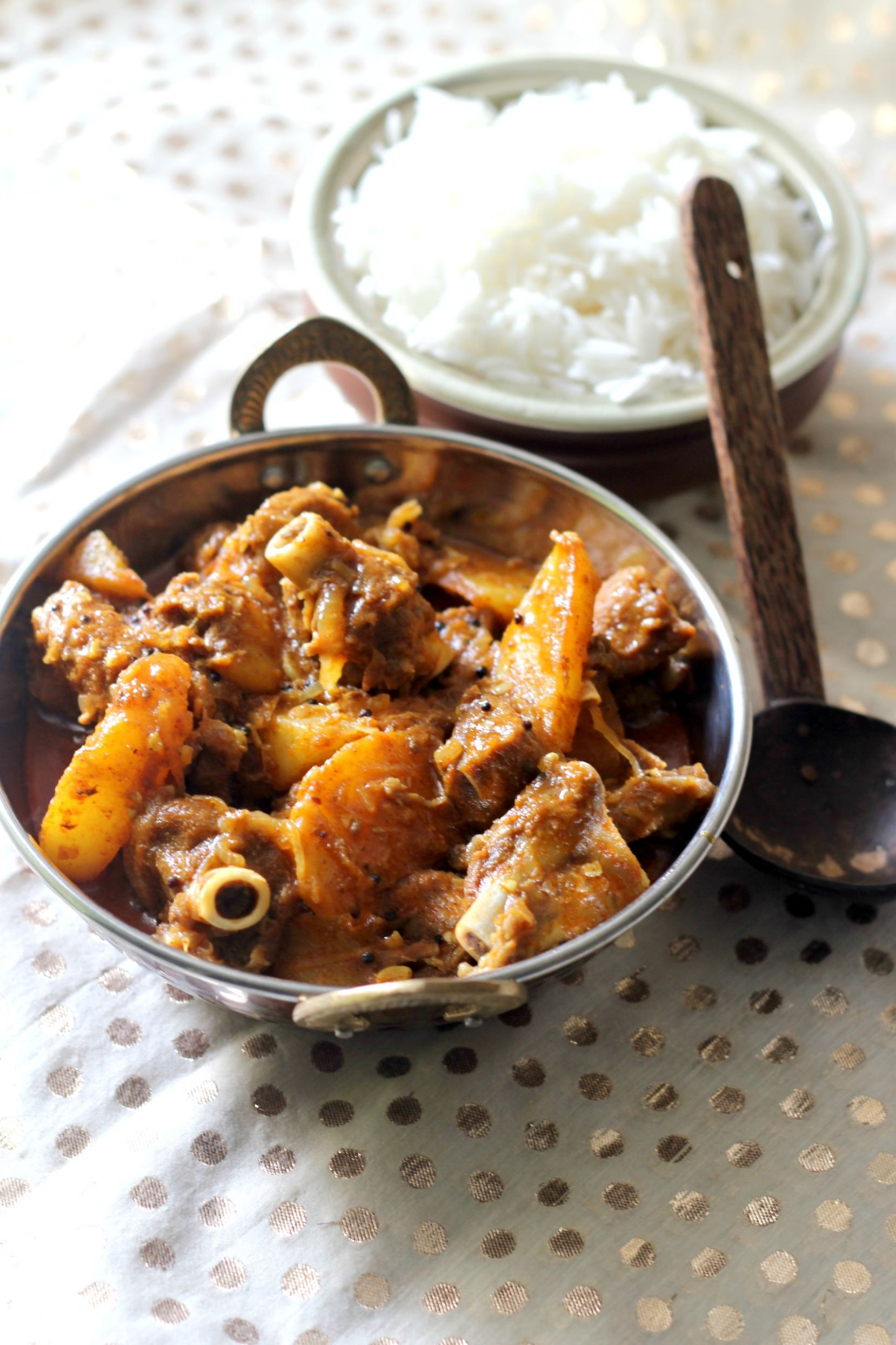 Kerala Style Easy Mutton Curry
