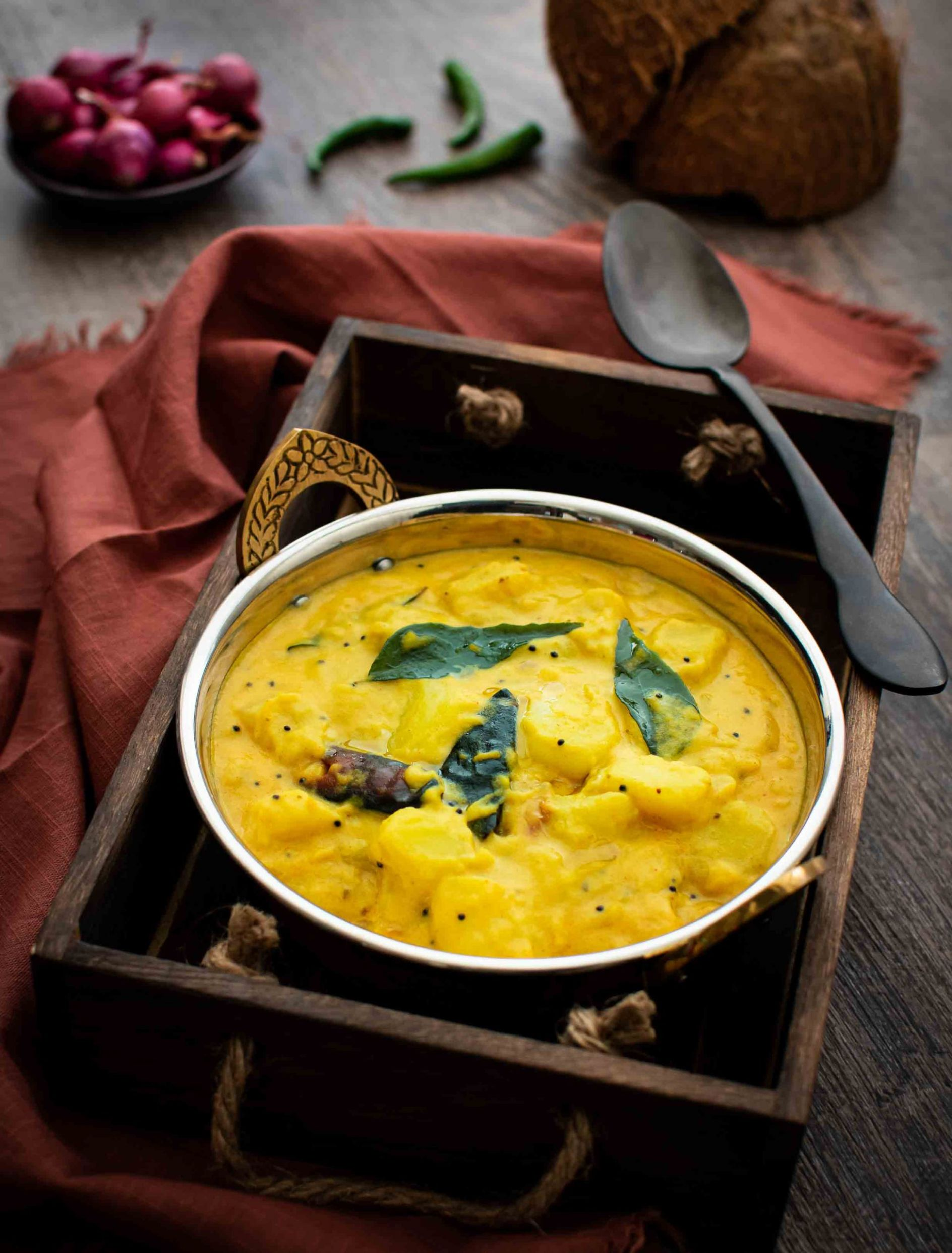 Kerala Style Potato Curry - Pepper Delight - Potato Recipes Kerala