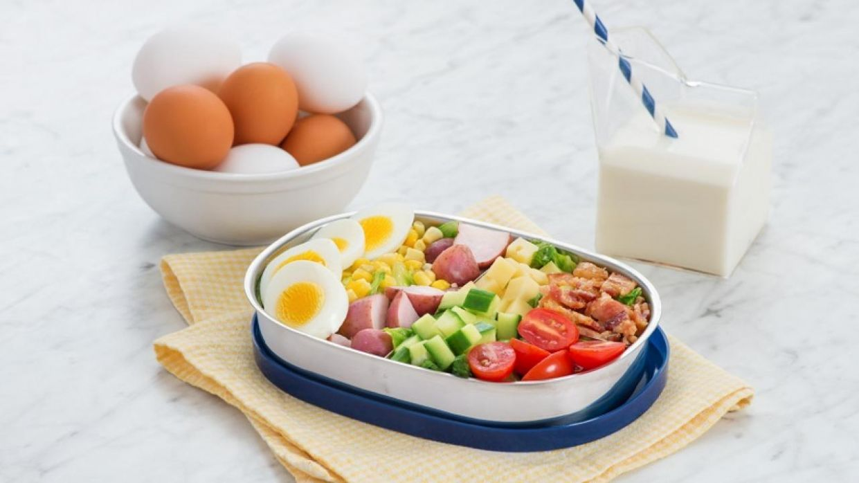 Kid-friendly Cobb Salad
