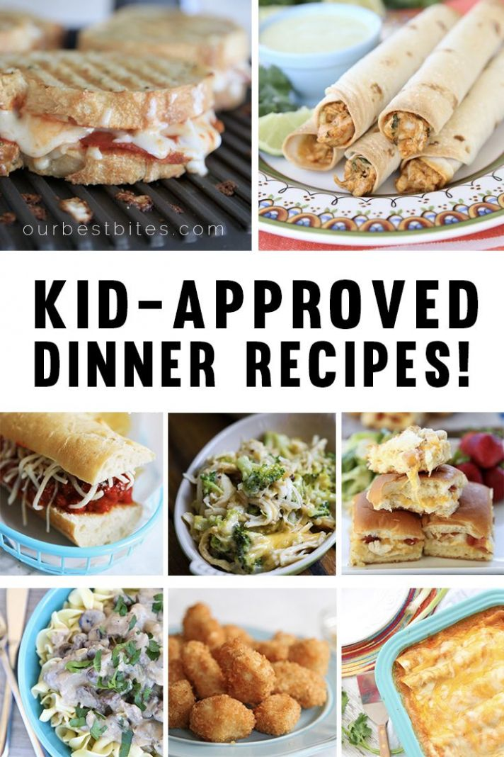 Kid-Friendly Dinner Recipes | Easy dinners for kids, Cooking with ...