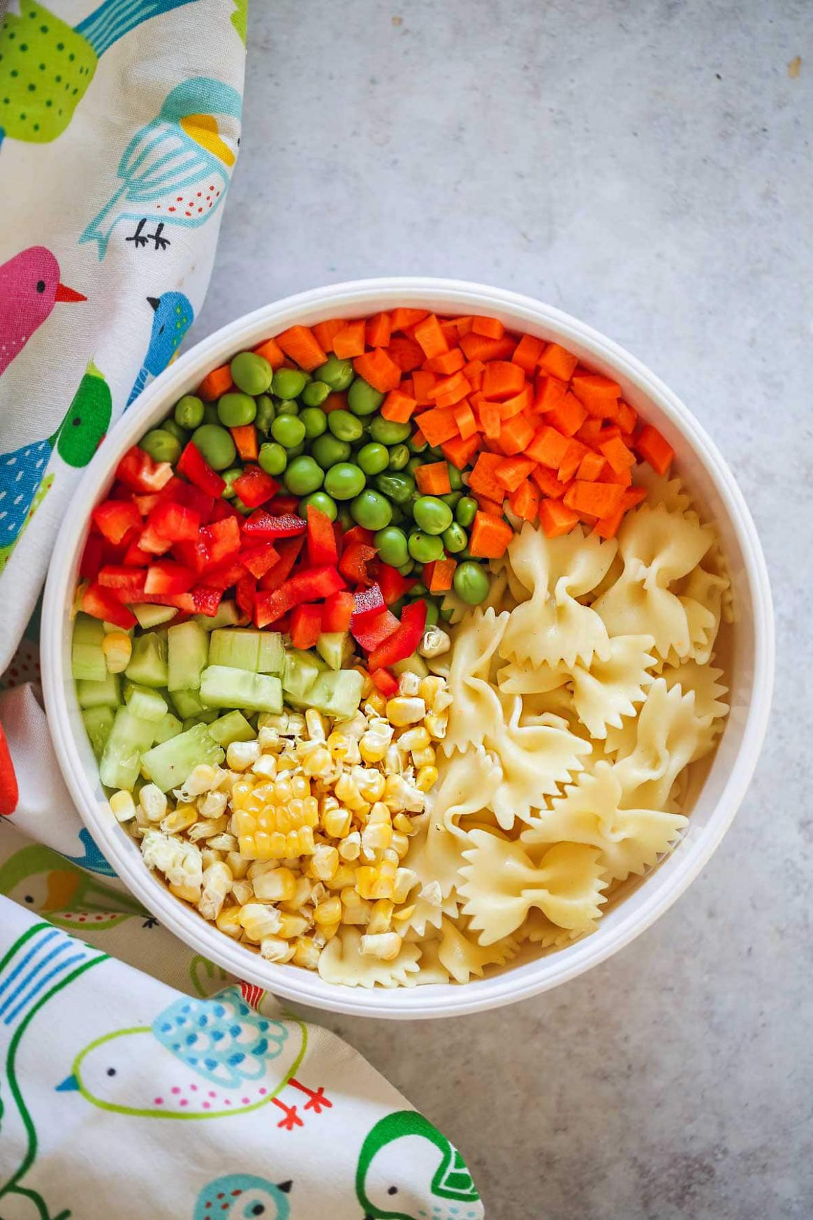 Kid Friendly Pasta Salad - Little Sunny Kitchen