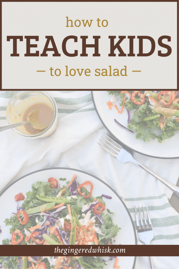 Kid Friendly Salad - How to get your family to love salads