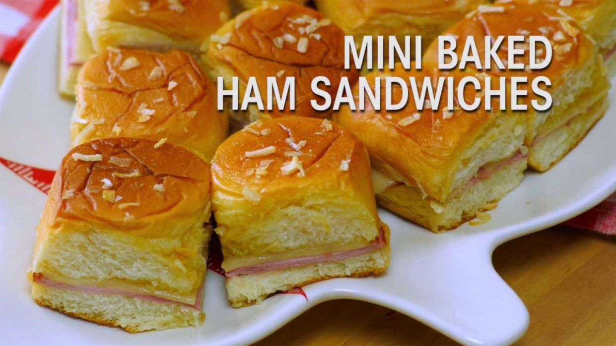 King's Hawaiian Recipe: Mini Baked Ham Sandwiches
