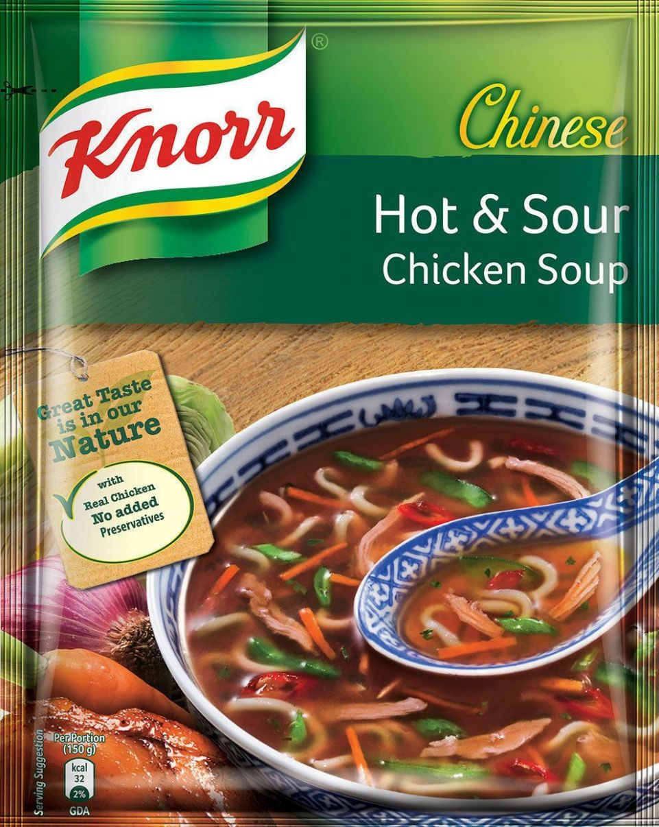 Knorr® Chinese Hot And Sour Chicken Soup - 8G Free Shipping ...