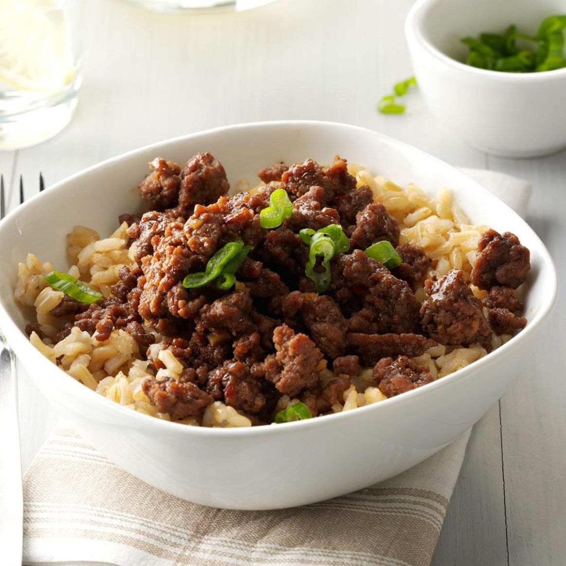 Korean Beef and Rice - Rice Recipes Korean
