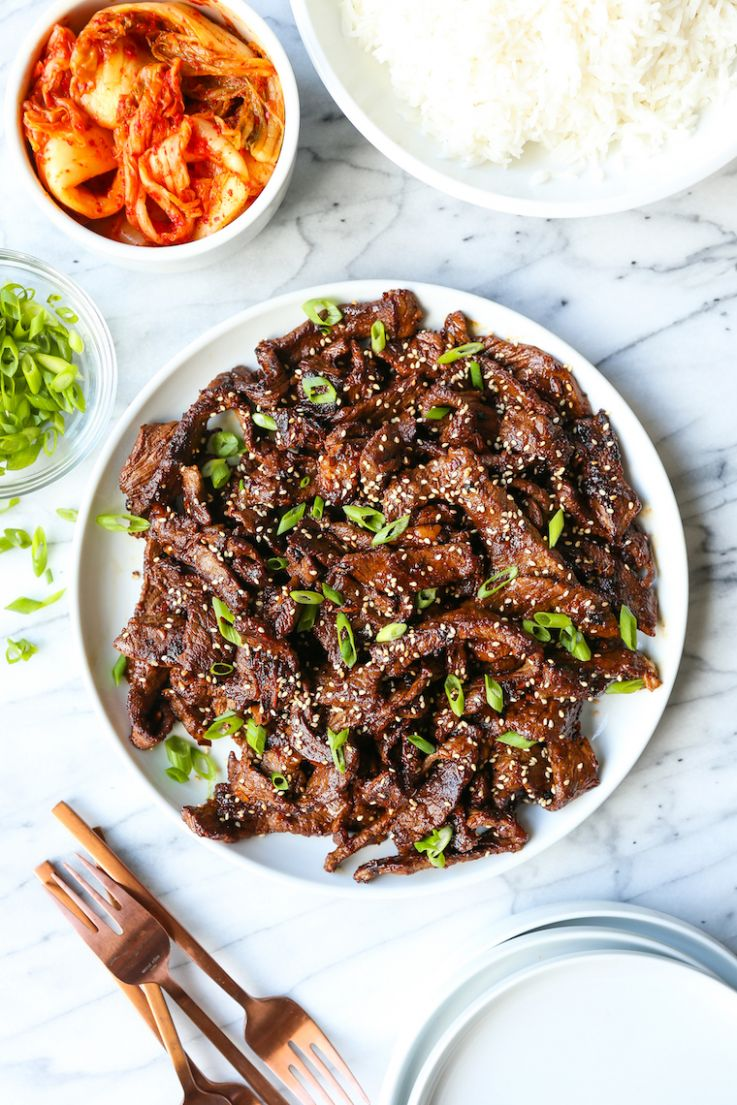 Korean Beef Bulgogi - Beef Recipes Near Me