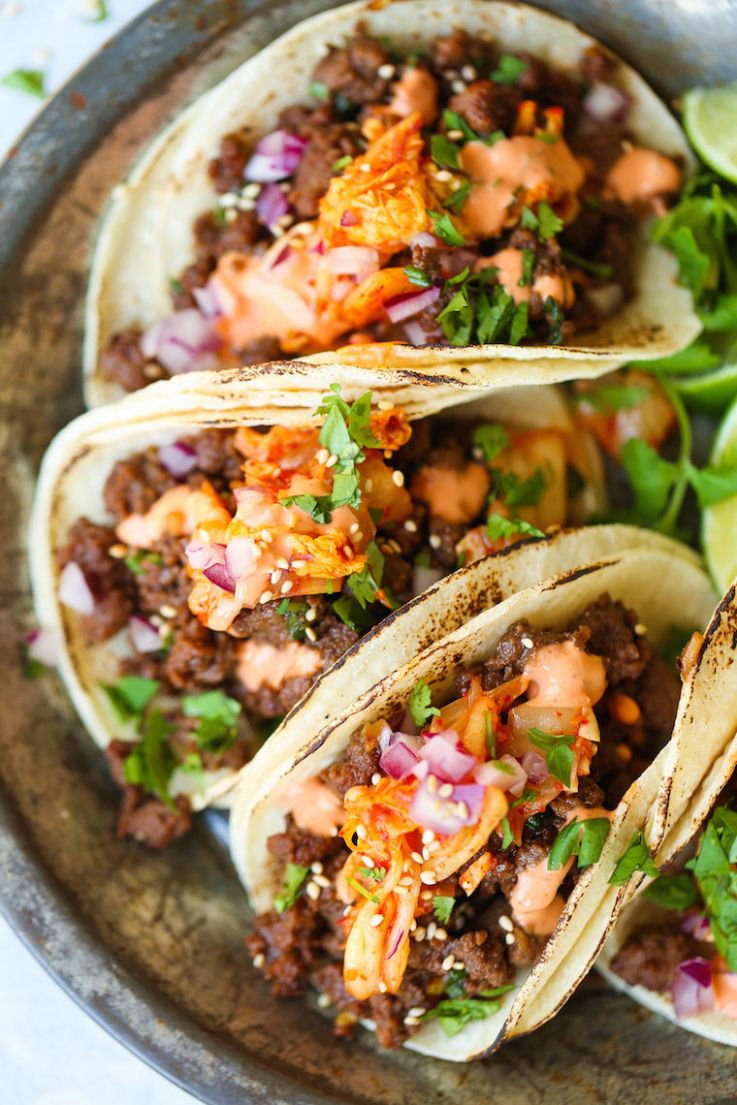 Korean Beef Tacos - Beef Recipes Near Me