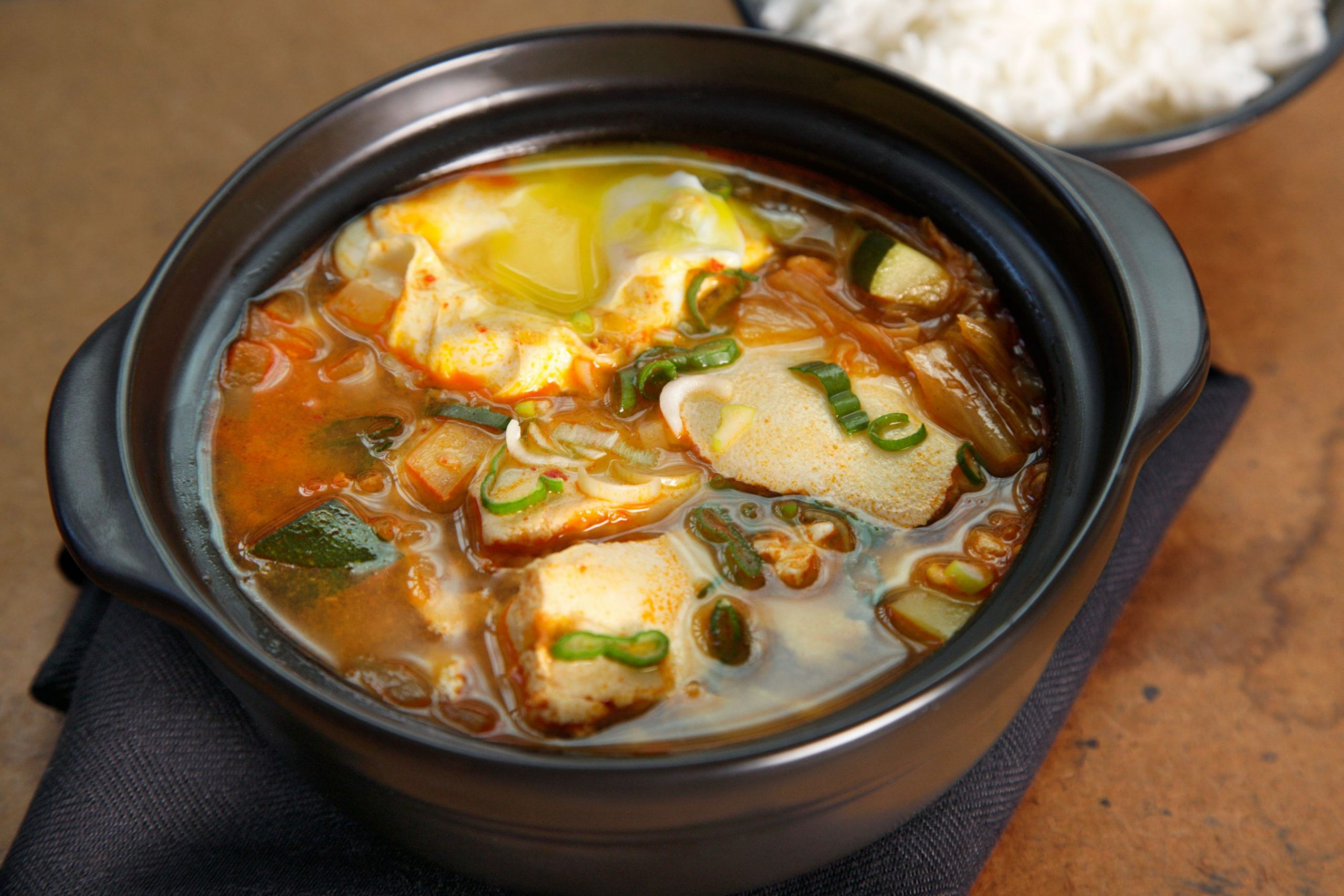 Korean Kimchi Tofu Soup (Soondubu Jjigae) - Soup Recipes Korean