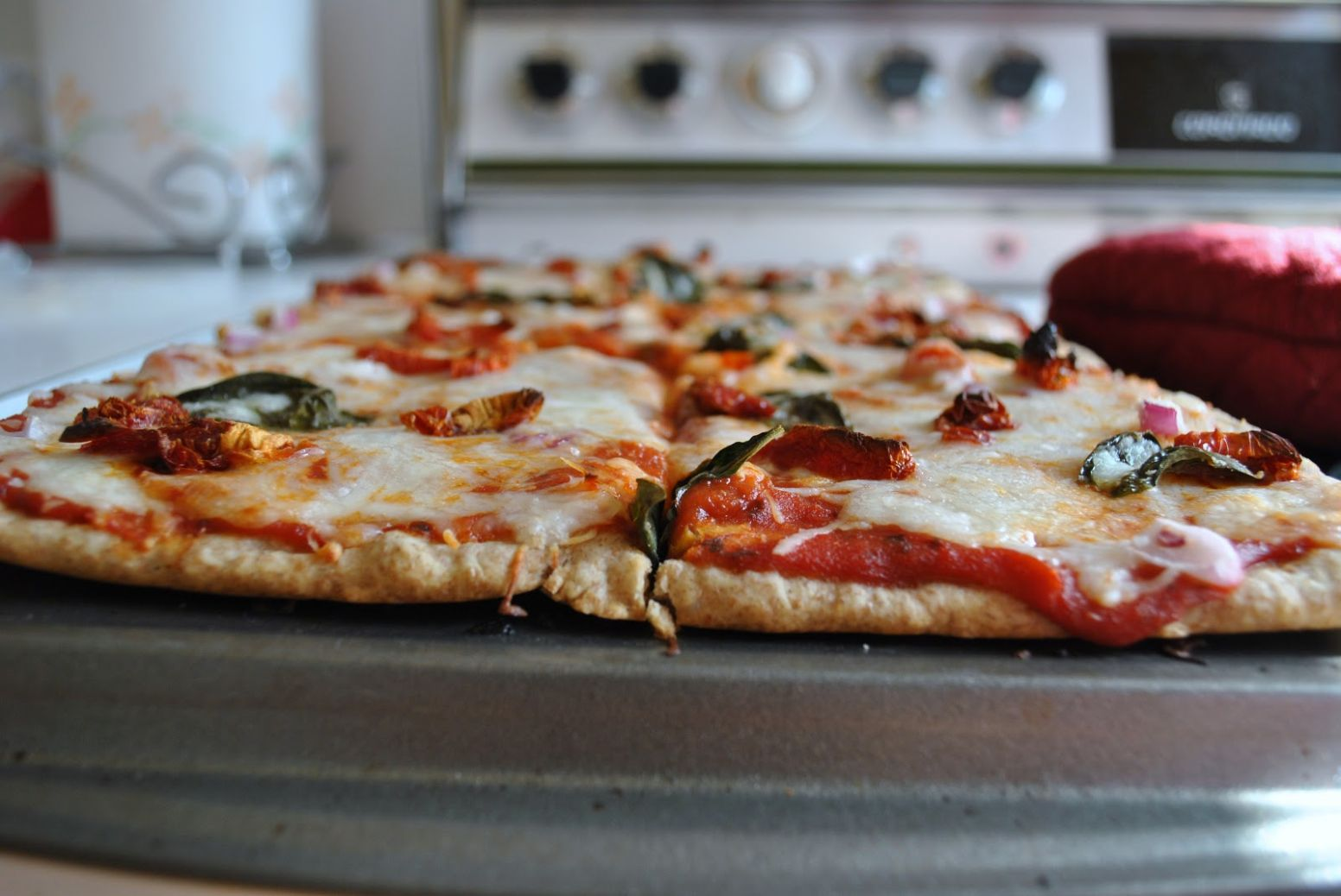 Kristin in Her Kitchen: No-Yeast Pizza Dough with Whole Wheat - Recipes Pizza Base Without Yeast