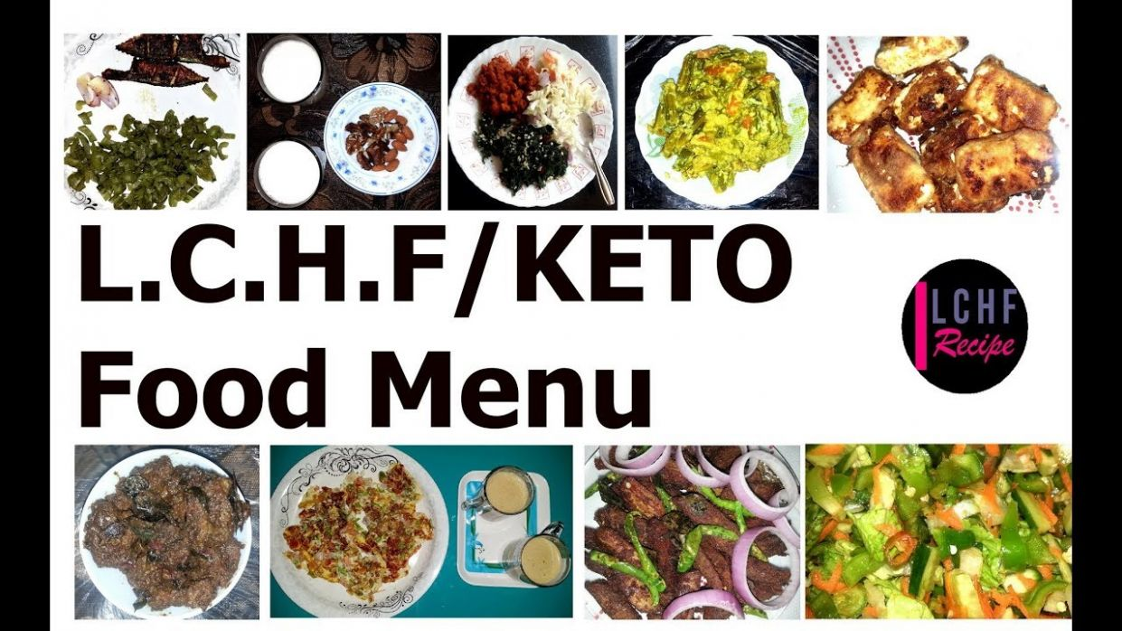 L.C.H.F DIET # FOOD MENU FOR BEGINNERS - MALAYALAM
