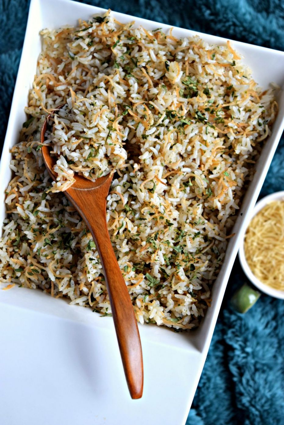 Lebanese Rice with Vermicelli - Rice Recipes Lebanese