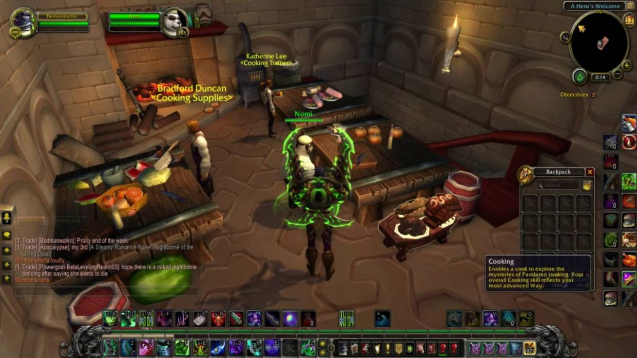 Legion Cooking - How you unlock recipes and how it works