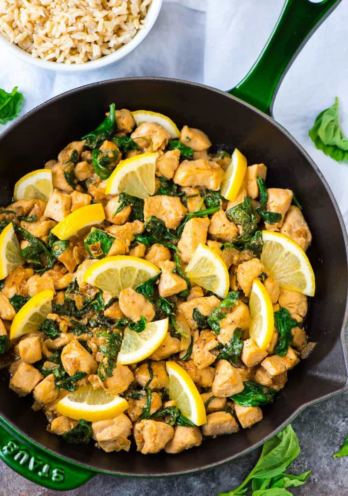 Lemon Basil Chicken - Recipes Chicken Basil