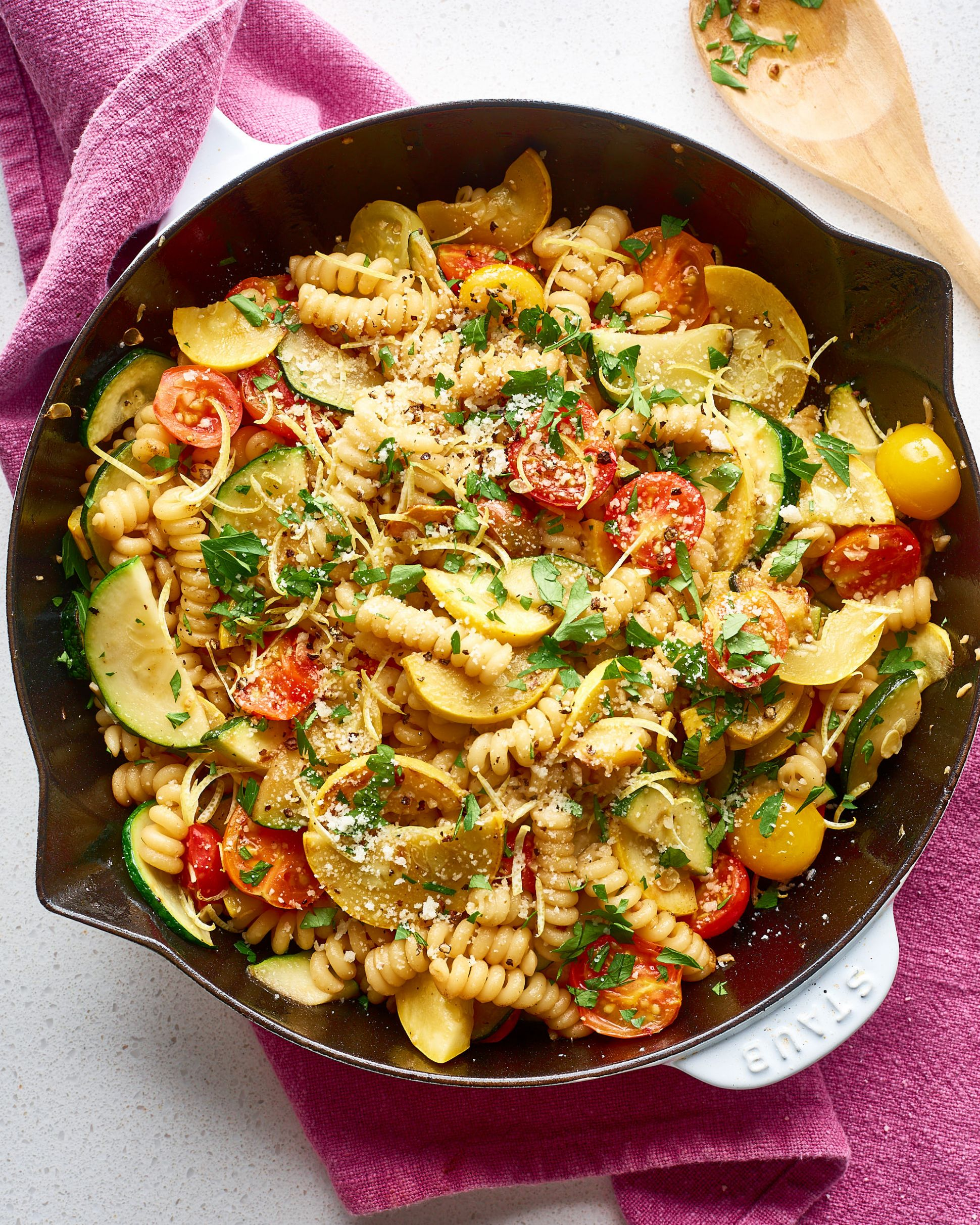 Lemon Butter Pasta & Veggies