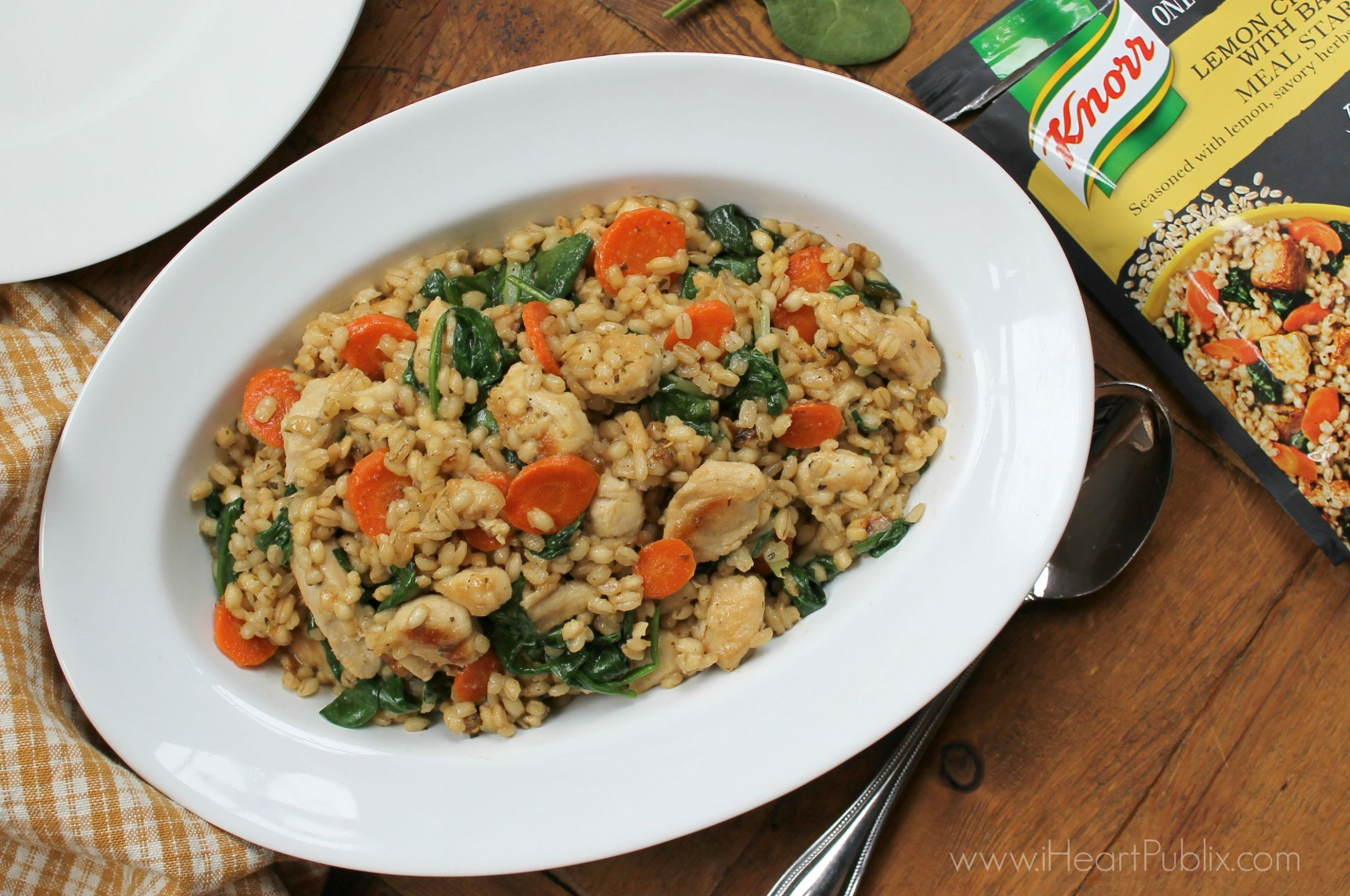 Lemon Chicken with Barley - Easy & Delicious Recipe With Knorr One ...