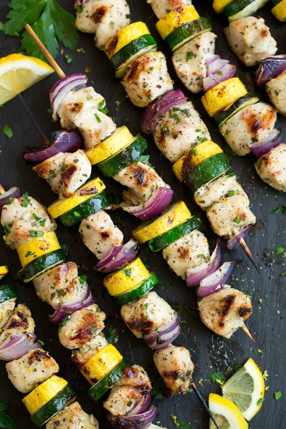 Lemon Pepper Chicken Kebabs - Recipes Chicken Kebabs