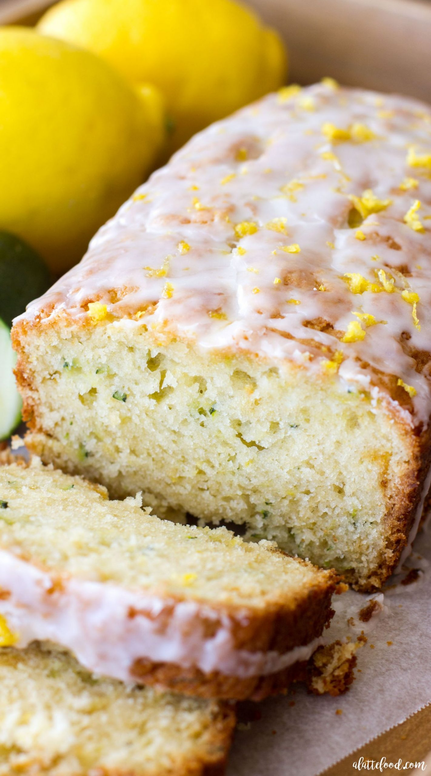 Lemon Zucchini Bread - A Latte Food