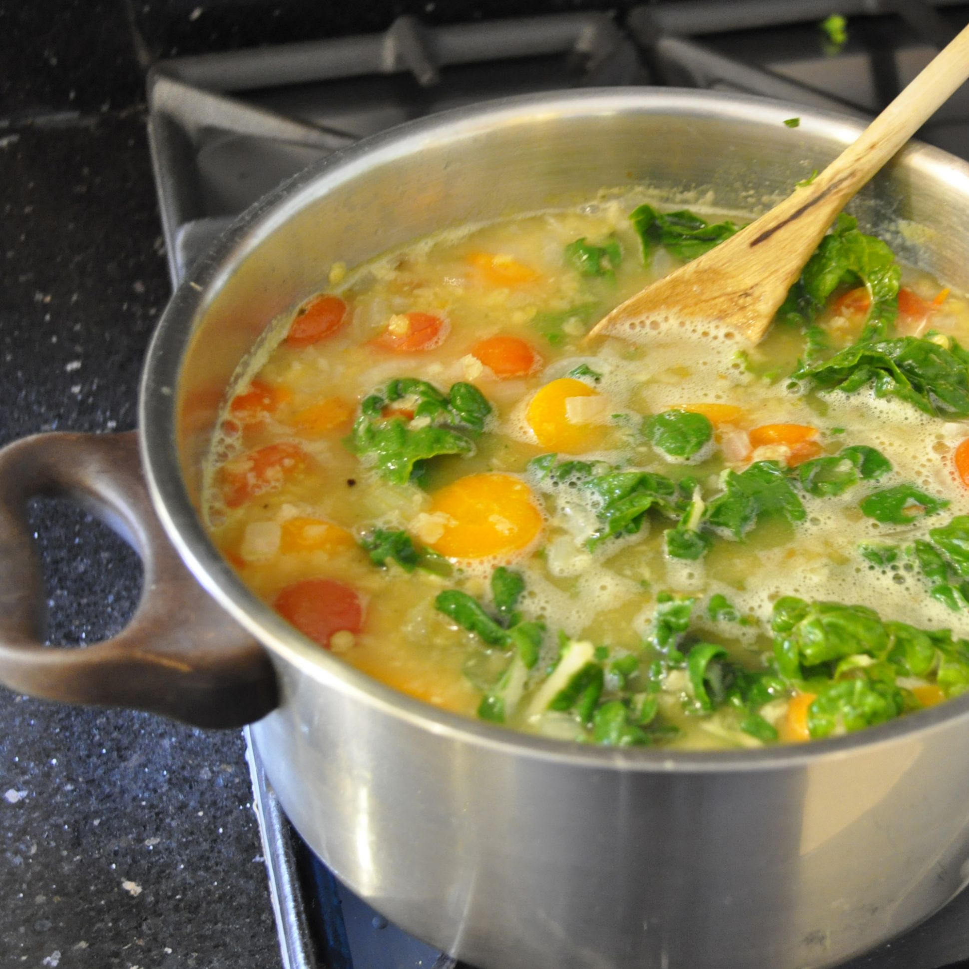Lentil and Spinach Soup - Soup Recipes Jamie Oliver