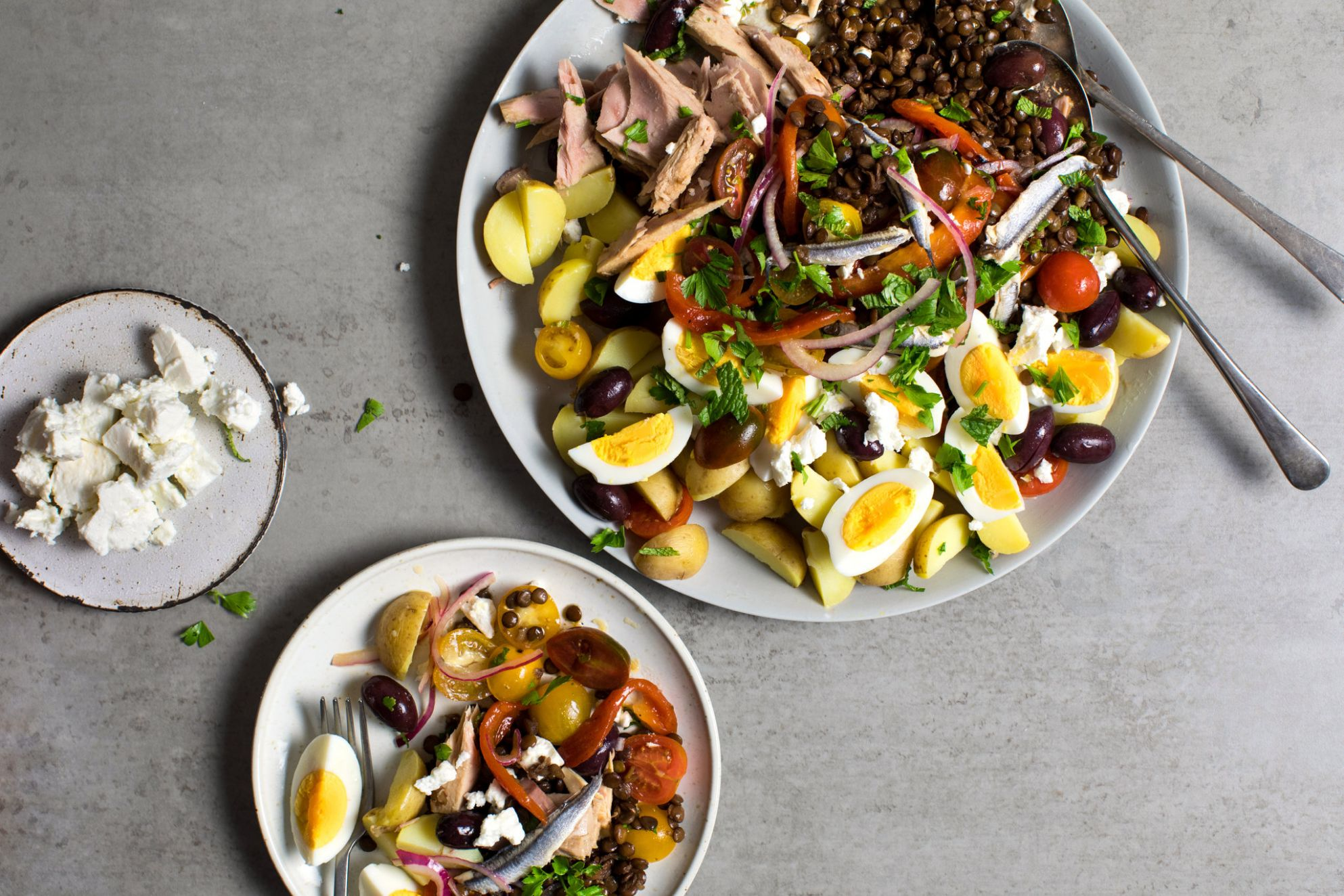 Lentil Salad Saves the Picnic - The New York Times