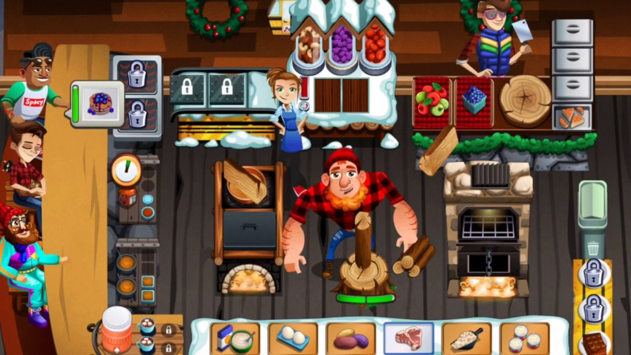 LGSP: Country Fried Cabin - Season 11 - Episode 11 & 11 (Cooking Dash 11) - Recipes Cooking Dash