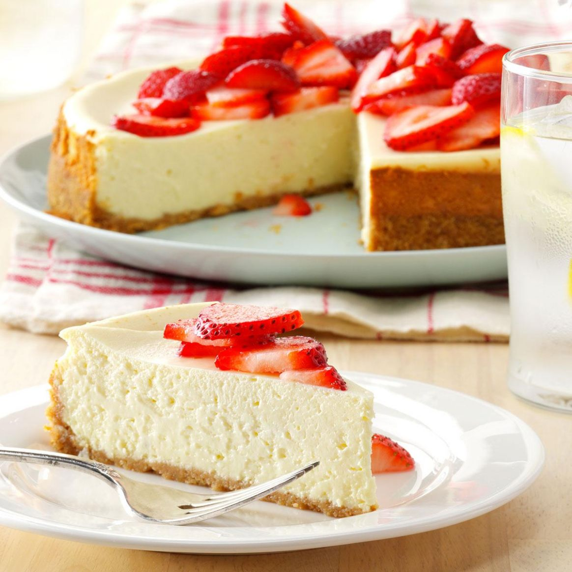 Light Cheesecake - Dessert Recipes Cheesecake