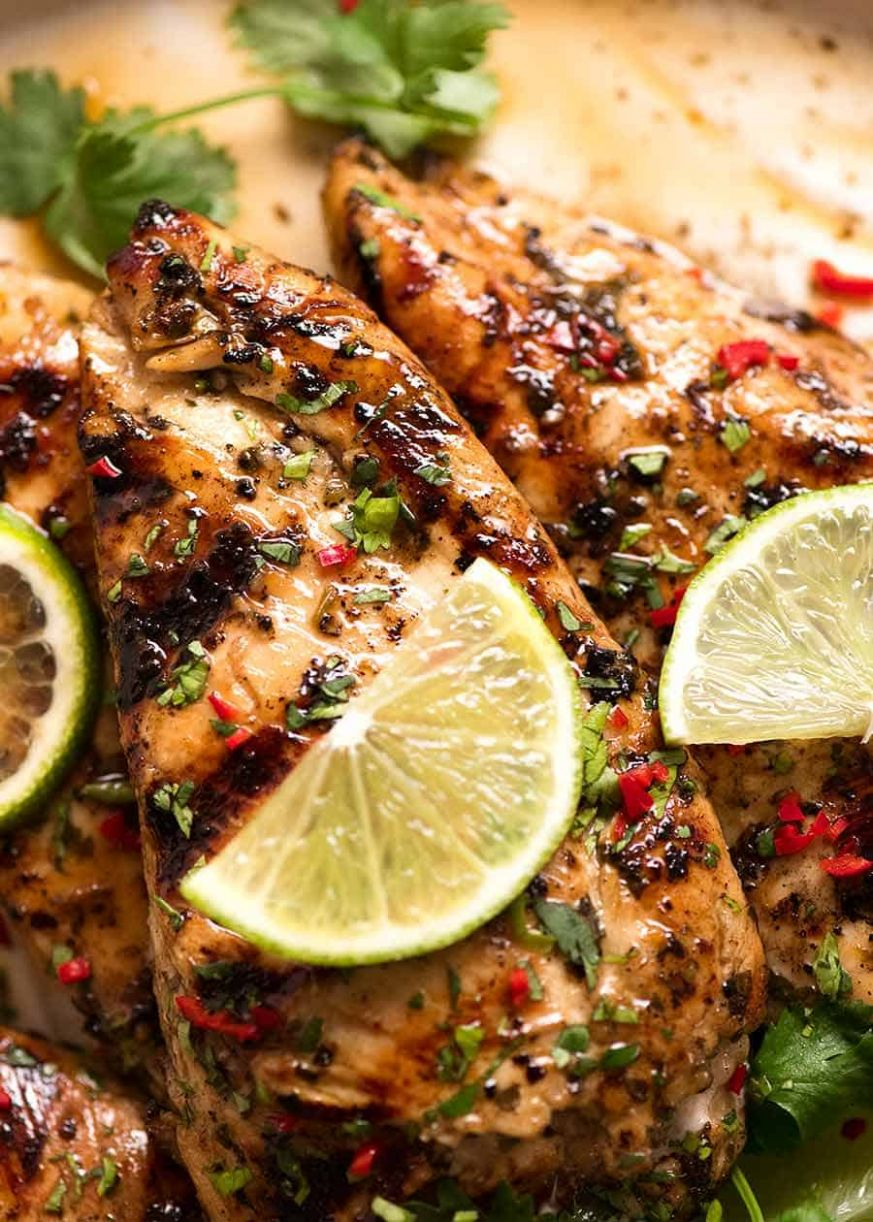 Lime Marinated Grilled Chicken