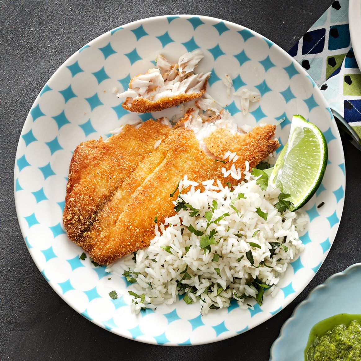 Lime Tilapia & Rice