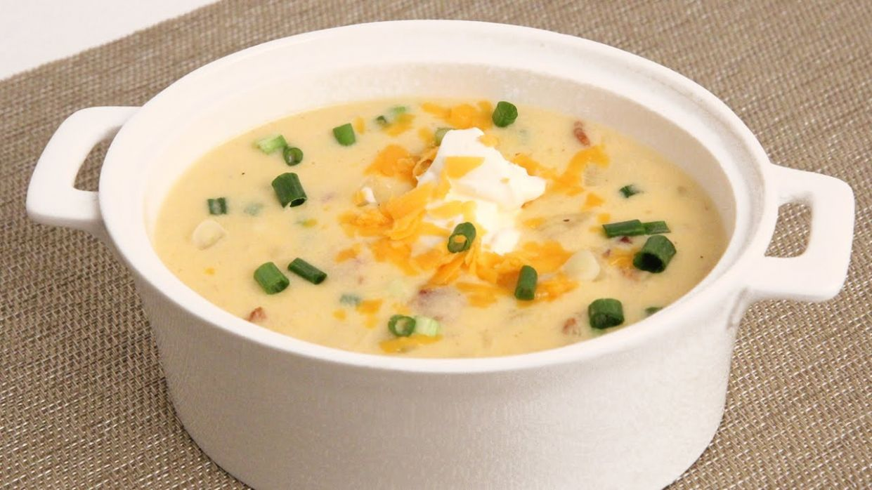 Loaded Potato Soup Recipe - Soup Recipes With Ingredients And Procedure