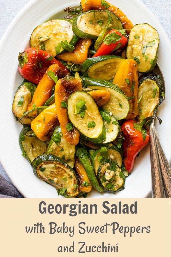 Looking for healthy zucchini recipes? Try this delicious Georgian ...
