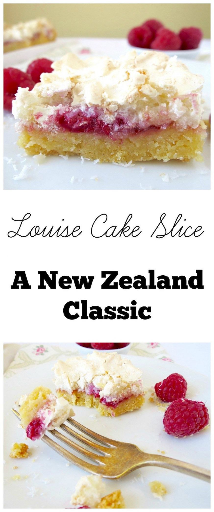 Louise Cake Slice - A New Zealand classic. Must try recipe! | Kiwi ...