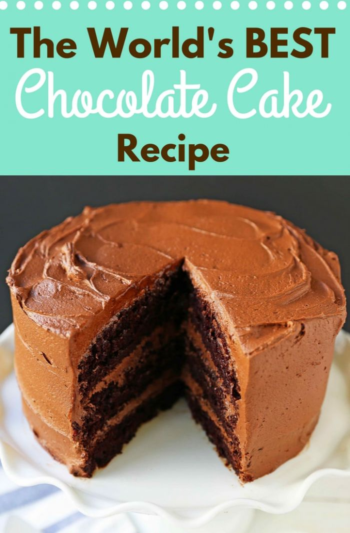Love at First Sight Chocolate Cake - Cake Recipes Easy Chocolate