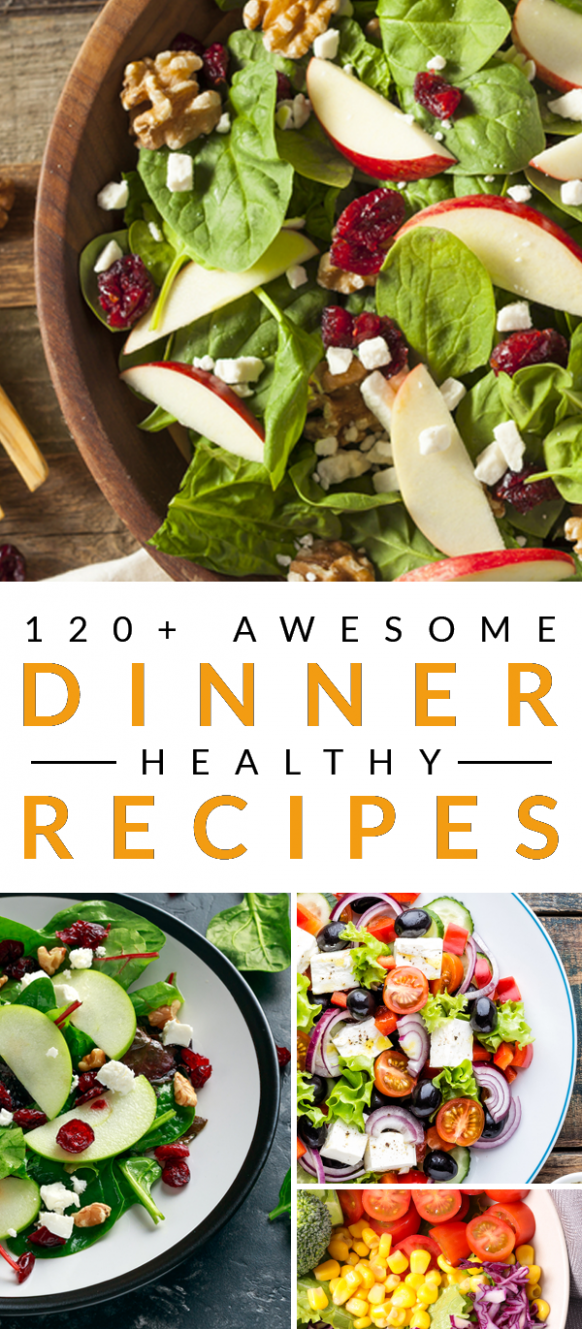 Love everything about these healthy dinner recipes. They are just ..